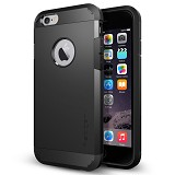 "SPIGEN iPhone 6 (4.7"") Case Tough Armor Series [SGP10968] - Smooth Black - Casing Handphone / Case"